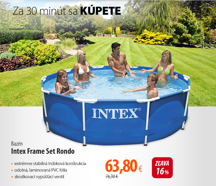 Bazén Intex Frame Set Rondo