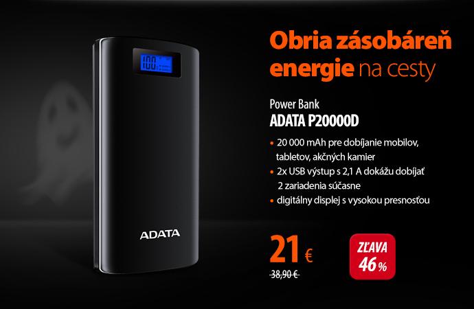 Power Bank ADATA P20000D