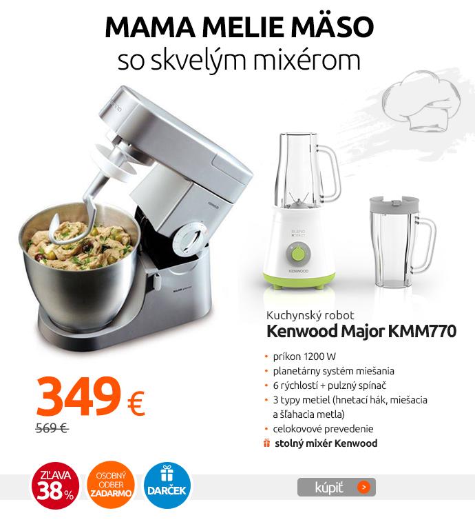 Kuchynský robot Kenwood Major KMM770