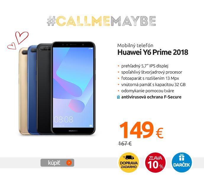 Mobilný telefón Huawei Y6 Prime 2018