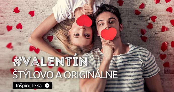 Valentín štýlovo a originálne