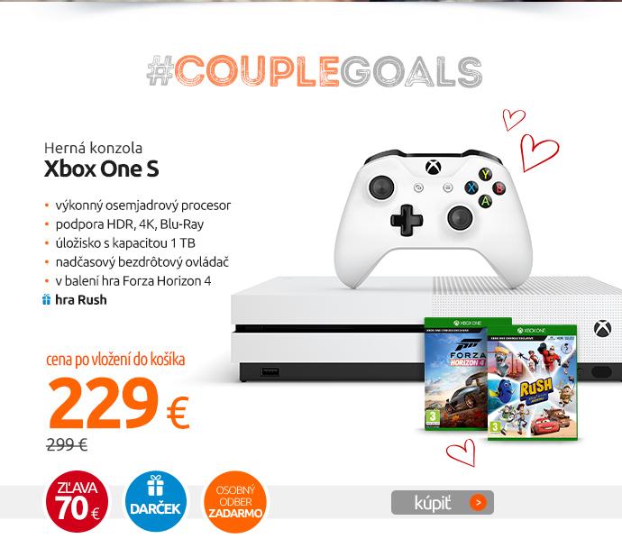 Herná konzola Xbox One S