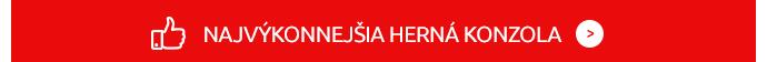 NAJVÝKONNEJŠIA HERNÁ KONZOLA (červený)