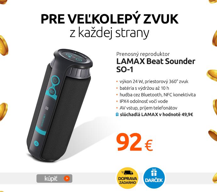 Prenosný reproduktor LAMAX Beat Sounder SO-1