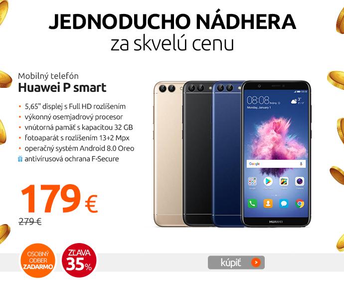 Mobilný telefón Huawei P smart