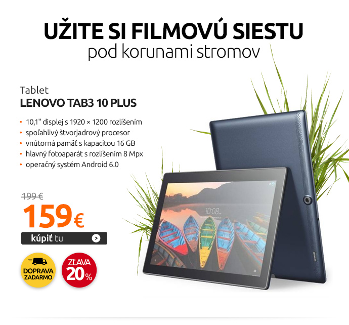 Tablet Lenovo TAB3 10 Plus