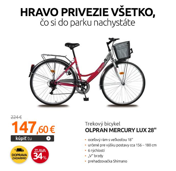 "Trekový bicykel Olpran Mercury Lux 28"""
