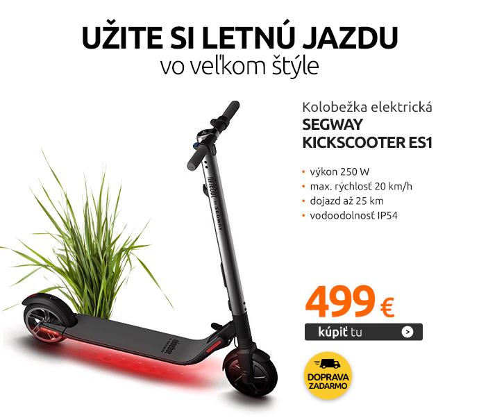 Kolobežka elektrická Segway Kickscooter ES1