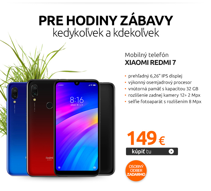 Mobilný telefón Xiaomi Redmi 7