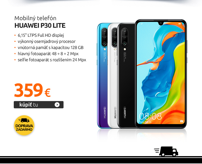 Mobilný telefón Huawei P30 lite