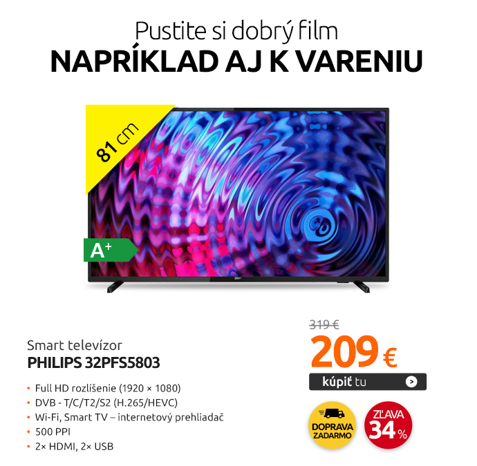 Smart televízor Philips 32PFS5803