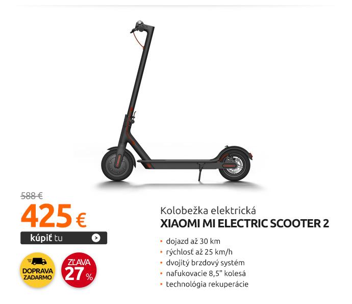 Kolobežka elektrická Xiaomi Mi Electric Scooter 2