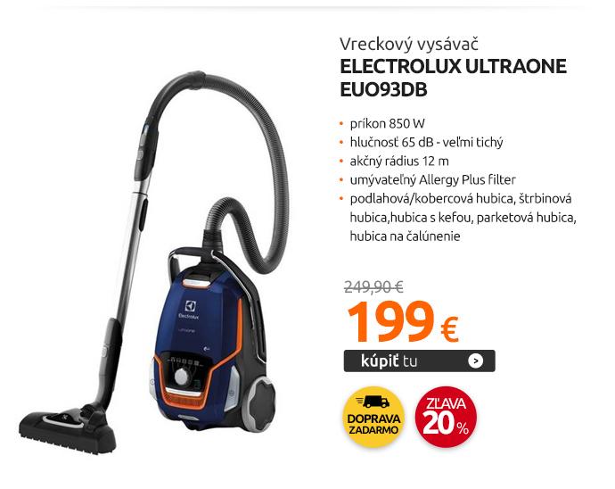 Vreckový vysávač Electrolux UltraOne EUO93DB