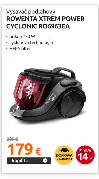 Vysávač podlahový Rowenta XTrem Power Cyclonic RO6963EA