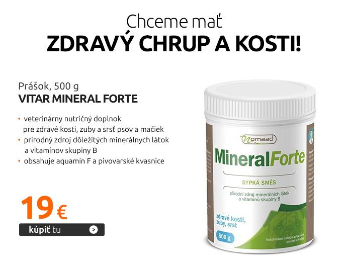Prášok Vitar Mineral Forte 500 g