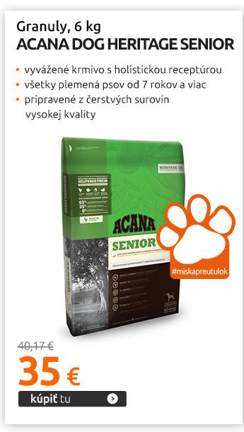 Granuly Acana Dog Heritage Senior 6 kg