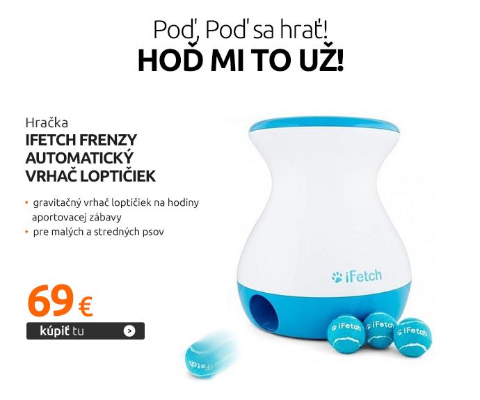 Hračka iFetch Frenzy automatický vrhač loptičiek
