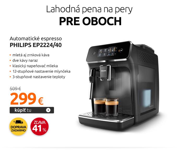 Automatické espresso Philips EP2224/40