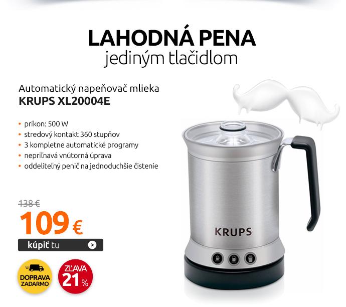 Automatický napeňovač mlieka Krups XL20004E