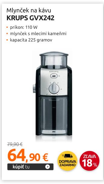Mlynček na kávu Krups GVX242