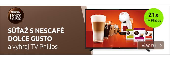 Súťaž s Nescafé DOLCE GUSTO