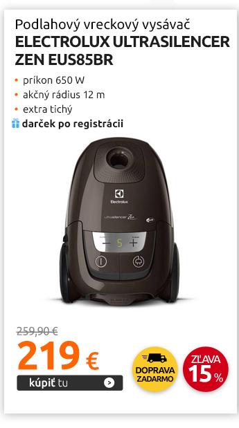 Podlahový vreckový vysávač Electrolux UltraSilencer ZEN EUS85BR