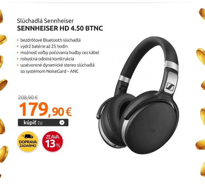 Slúchadlá Sennheiser HD 4.50 BTNC