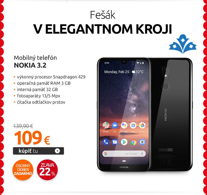 Mobilný telefón Nokia 3.2