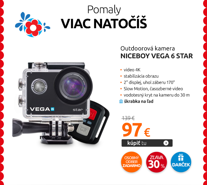 Outdoorová kamera Niceboy VEGA 6 star