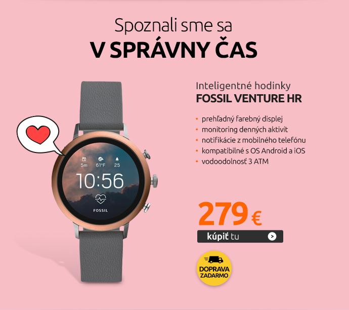 Inteligentné hodinky Fossil Venture HR