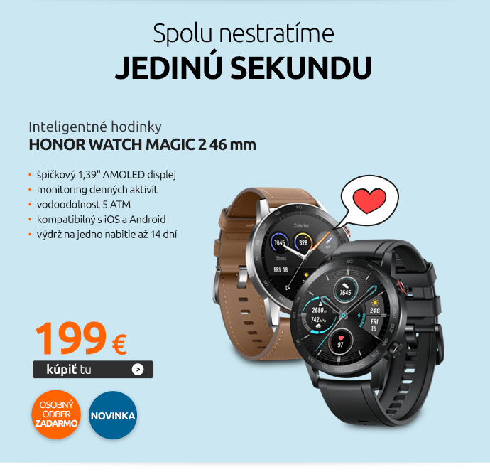 Inteligentné hodinky Honor Watch Magic 2 46 mm