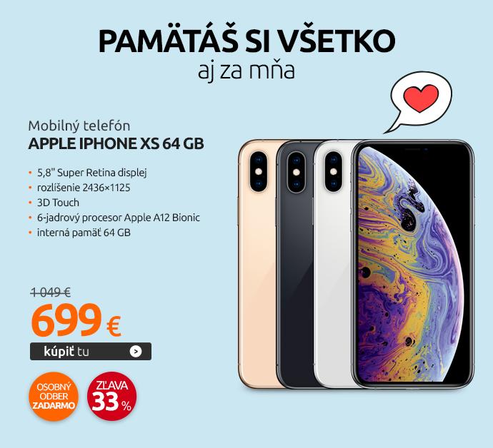 Mobilný telefón Apple iPhone Xs 64 GB
