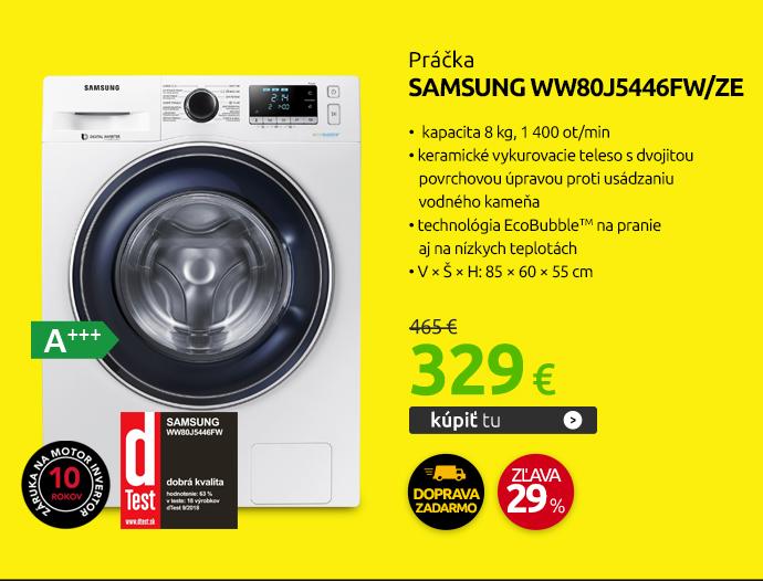 Práčka Samsung WW80J5446FW/ZE