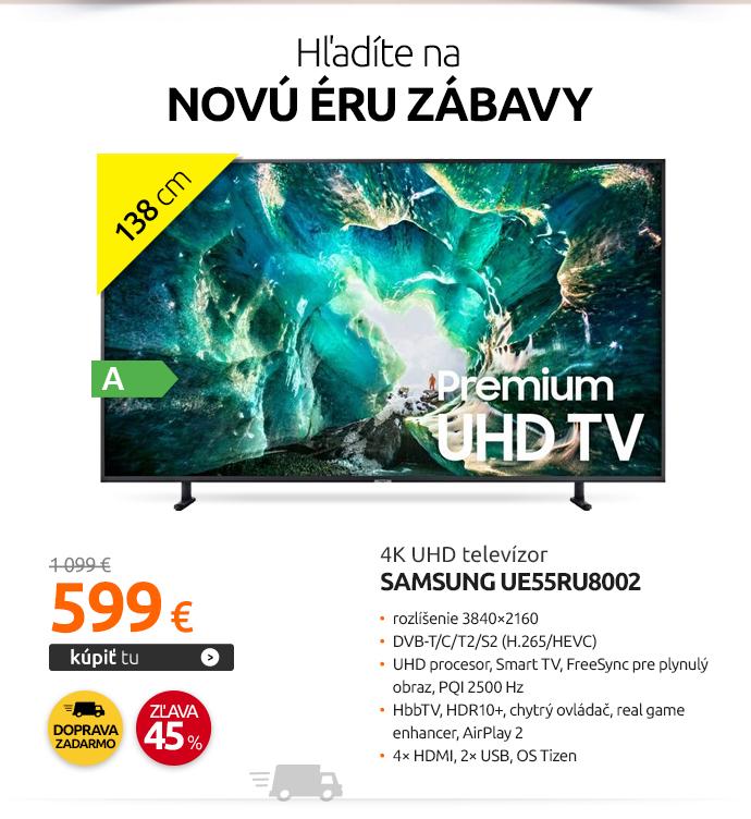 4K UHD televízor Samsung UE55RU8002