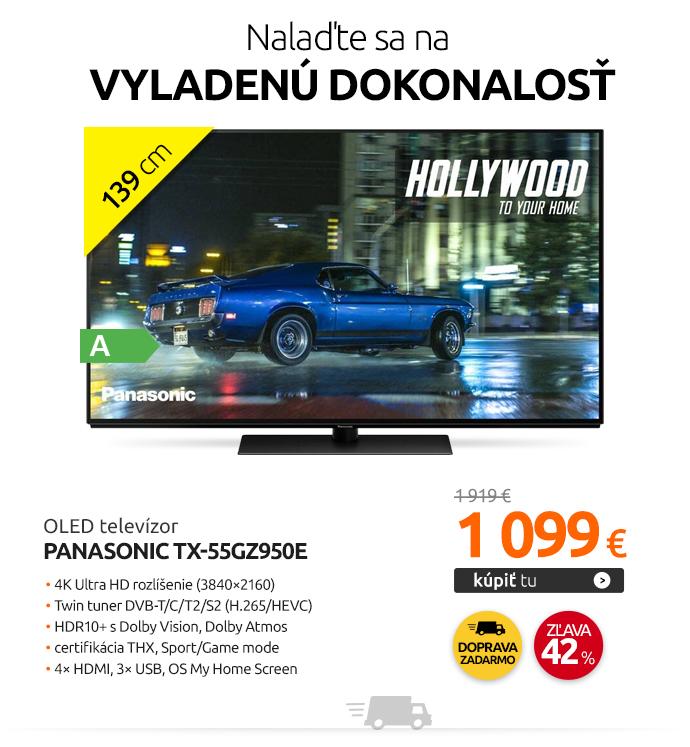 OLED televízor Panasonic TX-55GZ950E