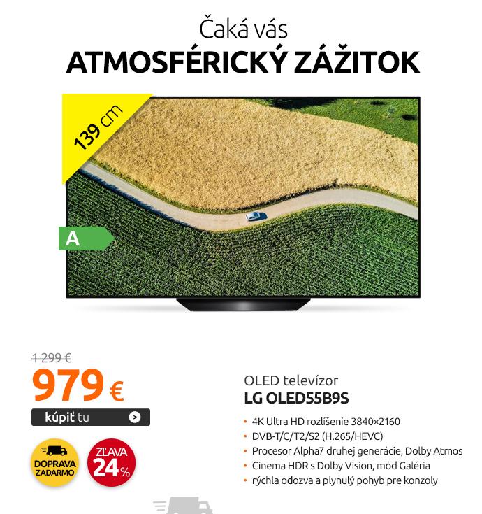 OLED televízor LG OLED55B9S