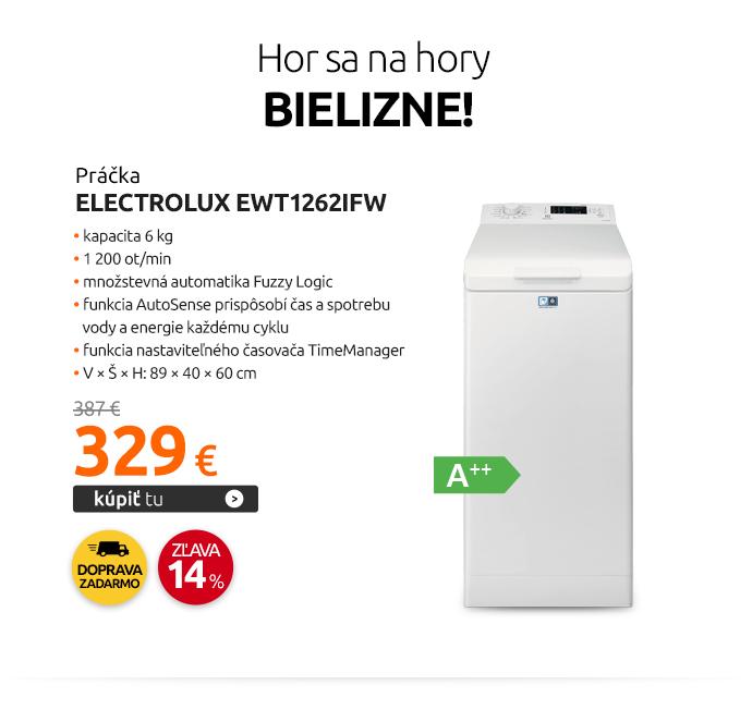 Práčka Electrolux EWT1262IFW