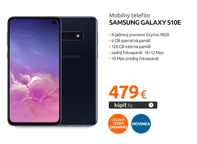 Mobilný telefón Samsung Galaxy S10e