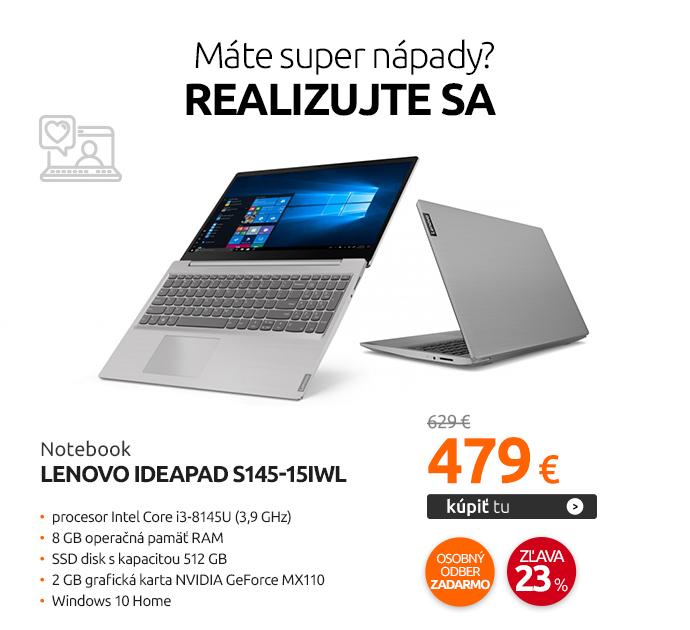 Notebook Lenovo IdeaPad S145-15IWL