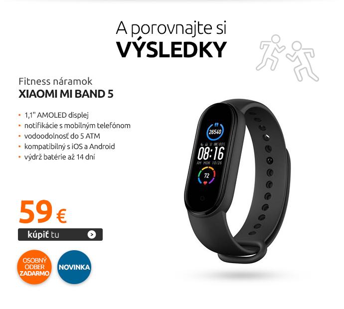 Fitness náramok Xiaomi mi band 5