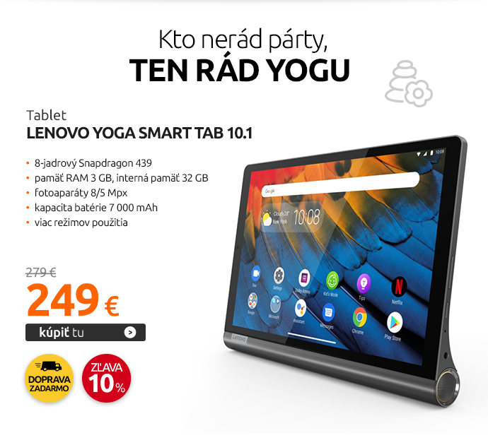 Tablet Lenovo Yoga Smart Tab 10.1