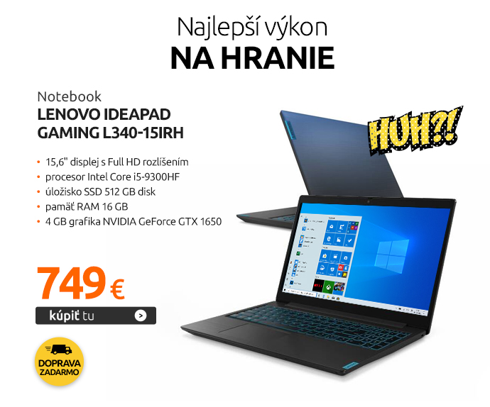 Notebook Lenovo IdeaPad Gaming L340-15IRH