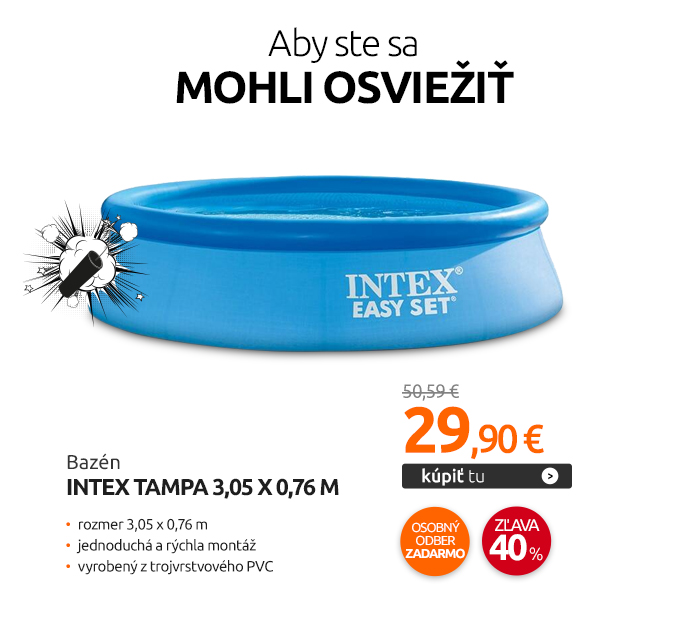 Bazén Intex Tampa 3,05 x 0,76 m
