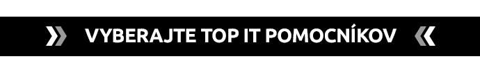 >> VYBERAJTE TOP IT POMOCNÍKOV<<