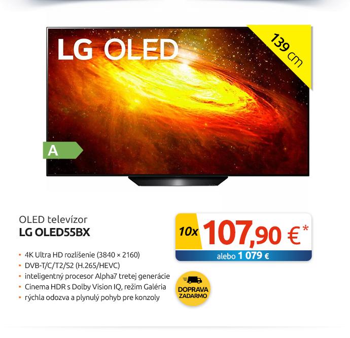 OLED televízor LG OLED55BX
