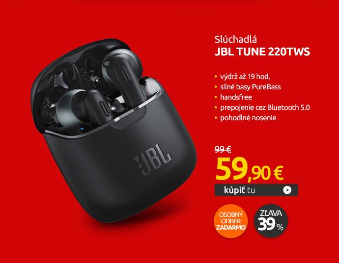 Slúchadlá JBL Tune 220TWS