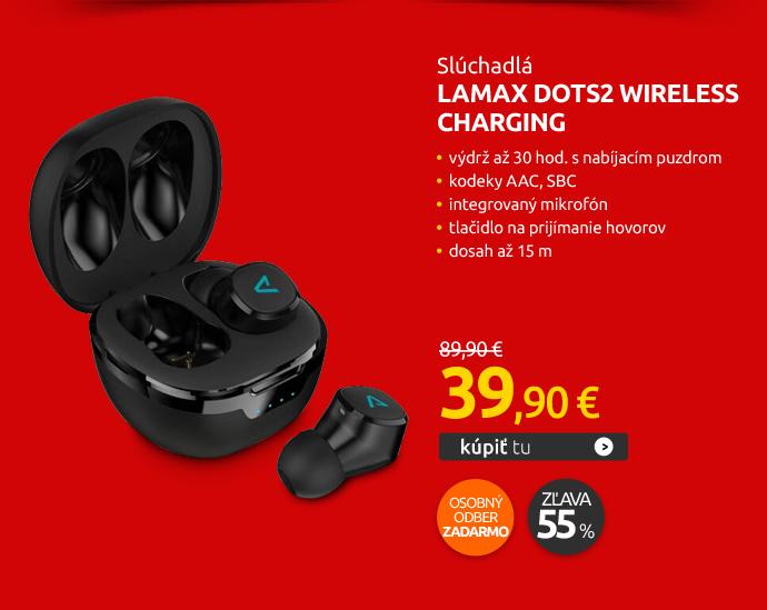 Slúchadlá LAMAX Dots2 Wireless Charging