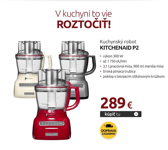 Kuchynský robot KitchenAid P2