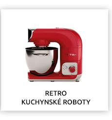 RETRO KUCHYNSKÉ ROBOTY