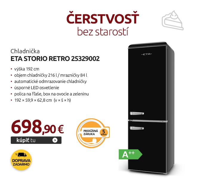 Chladnička ETA Storio retro 25329002